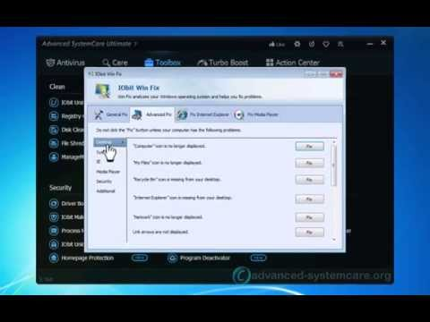 Advanced SystemCare Pro 7: Completely Fix Your Slow PC
