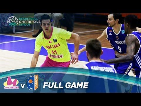 Mega Leks v KK Mornar - Full Game - Basketball Champions League