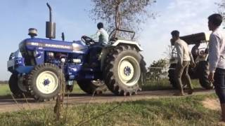 Farmtrac 60 Classic  Vs Swaraj 855 New Model
