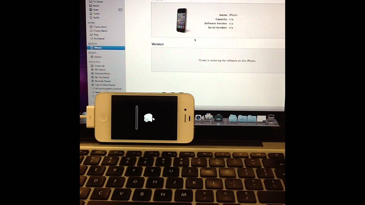 how to change password on iphone 4s