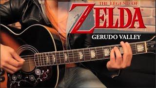 Zelda - Gerudo Valley Tutorial Guitarra + TAB // GUITAR LESSON (HD)