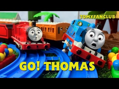"""GO! THOMAS Accidents TRACKMASTER """"THOMAS AND FRIENDS"""" 