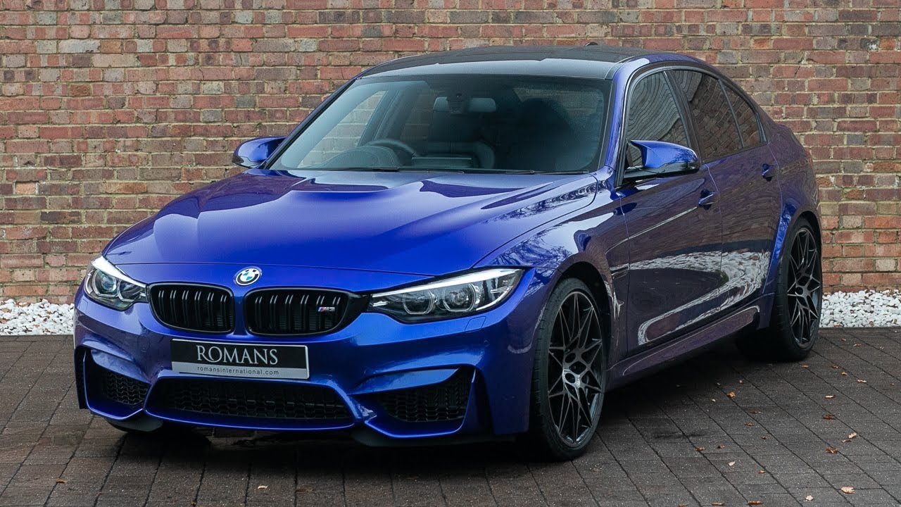2018 BMW M3 Competition Package