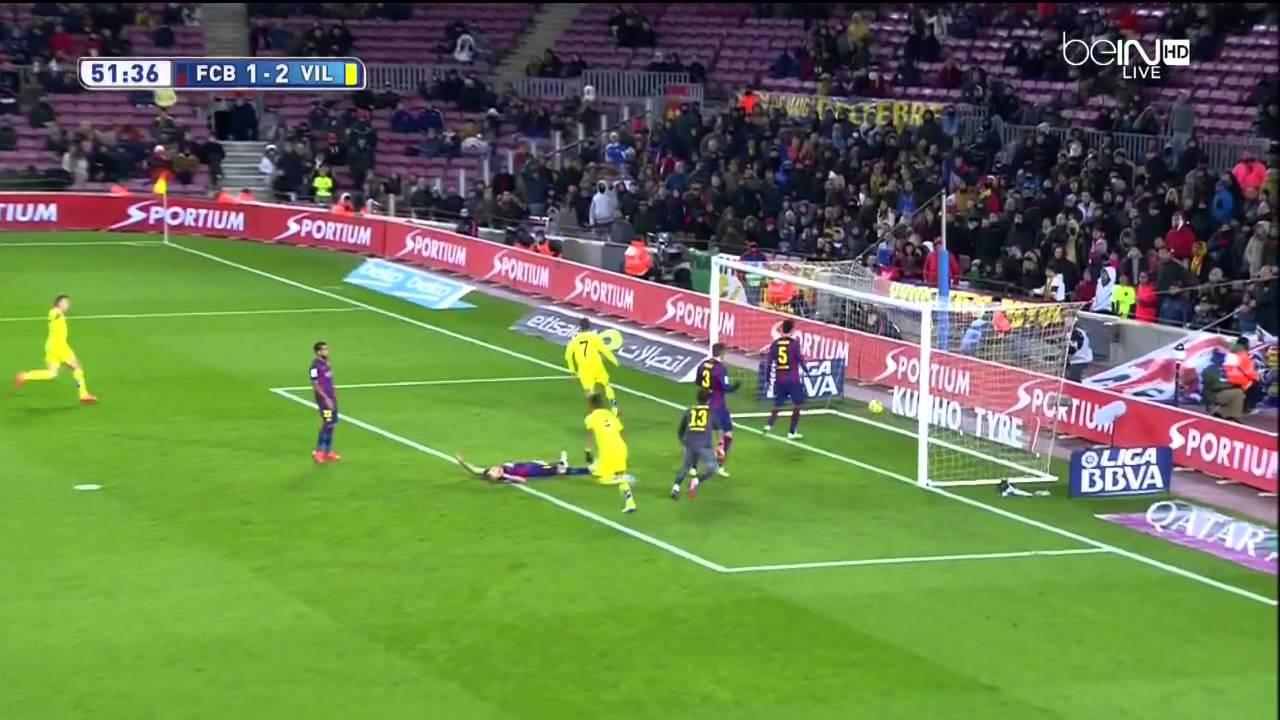 Download Barcelona - Villarreal Highlights HD 01.02.2015