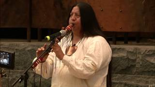 Cherokee Days 2015: Tommy Wildcat - Native American Flute 2