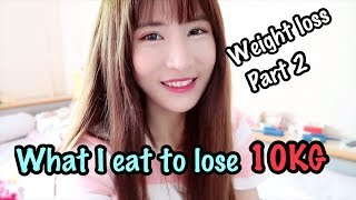 What I Eat in a Day to Lose 10KG in 3 Months (No Exercise)