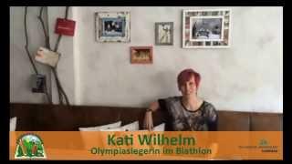 Kati Wilhelm grüßt die Kinderuni Ilmenau 2014