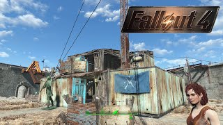 Fallout 4 | How To Build A House For Radio Freedom Station | The Castle