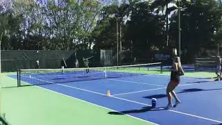 On-Court Interval Training | Tennis Lessons