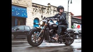Indian Scout Bobber review | eye catching motorcycle with classic style