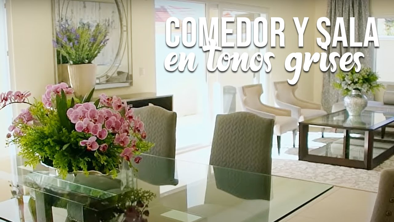 Armario De Solteiro Para Quarto ~ MAKEOVER Comedor y sala en tonos de grises YouTube