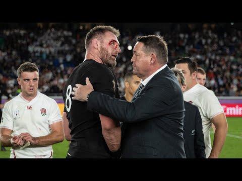 Player Reaction: All Blacks vs England Semifinal