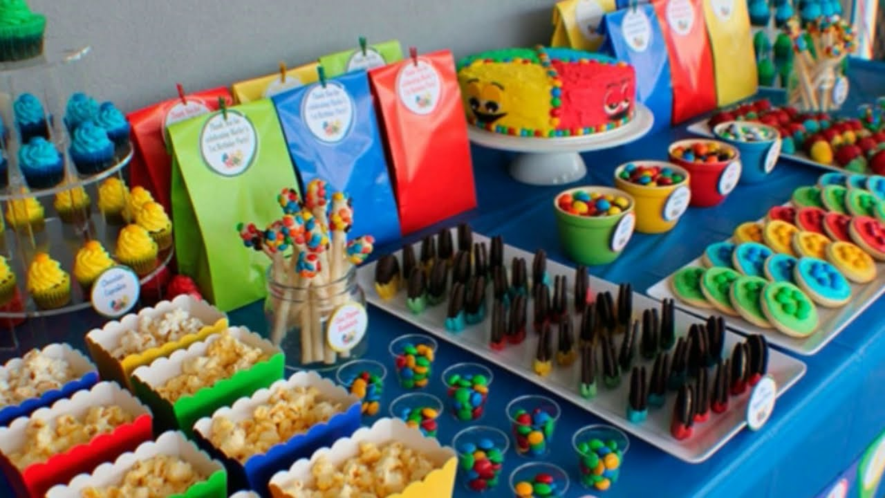 21 Ideias Para Decorar A Mesa De Guloseimas Para Festa Infantil