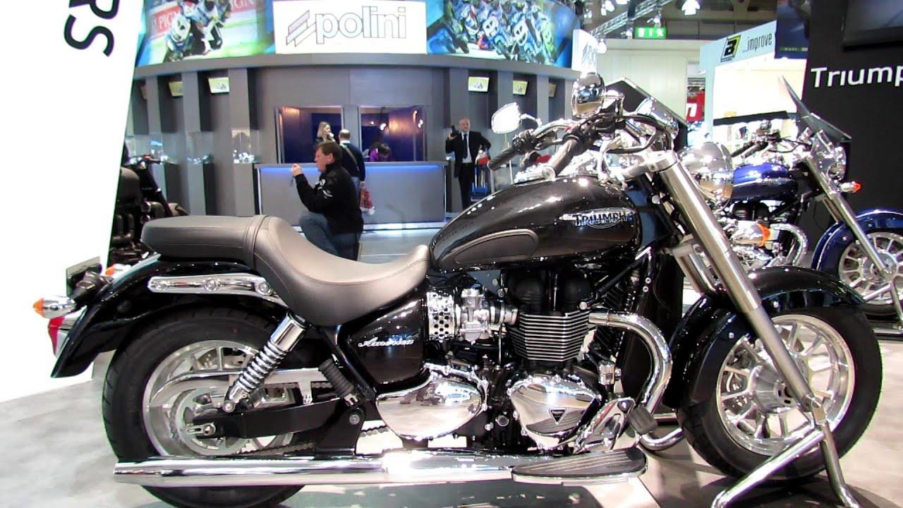 2014 Triumph America Walkaround - 2013 EICMA Milano Motorcycle ...