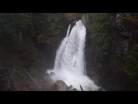Lady falls Strathcona provincial park