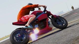 #52【GTA5:MOD編】バイクでドリフトに挑戦!!