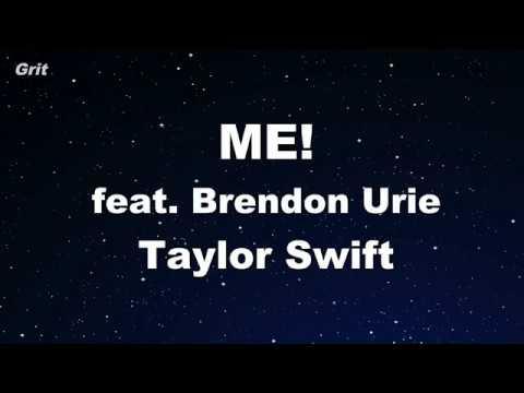 me!-feat.-brendon-urie---taylor-swift-karaoke-【no-guide-melody】-instrumental