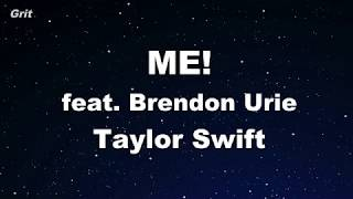 ME! feat. Brendon Urie - Taylor Swift Karaoke 【No Guide Melody】 Instrumental