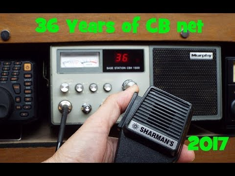 CB Radio in the UK the 36 year net.