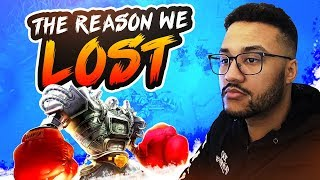 THE REASON WE LOST WAS. | APHROMOO
