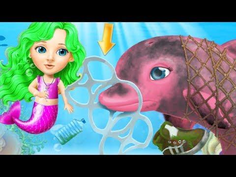 Sweet Baby Girl Mermaid Life - Play Ocean World Explorer, Under Water Makeover Fun Games For Kids