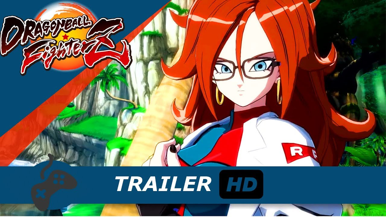 Dragon Ball FighterZ C21 STORY TEASER TRAILER TGS 2017 ...