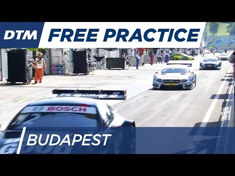 DTM Budapest 2016 - Free Practice 2 - Re-Live (German)