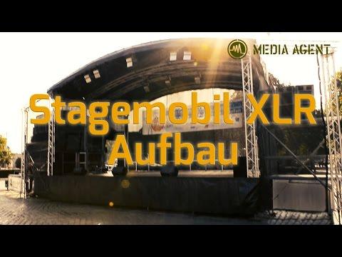 Stagemobil XLR Aufbau - Media Agent Veranstaltungstechnik Hannover
