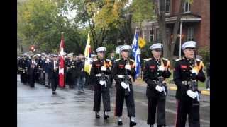 대한민국해군 순항전단 몬트리올 시가행진