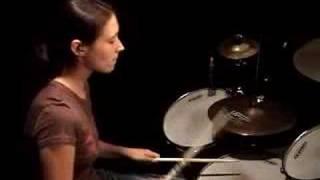 Emmanuelle Caplette on drum: Impression (June 2006)