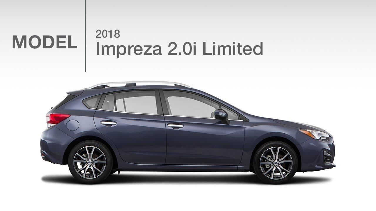 2018 Subaru Impreza 2 0i Limited Model Review