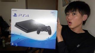 PS4開封の儀...爺ちゃん登場