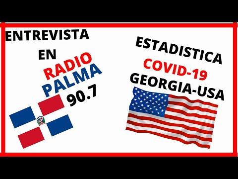 Emisora de radio palma 90.7 Republica Dominicana entrevista covid 19