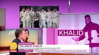 BTS♥~ DJ Khalid has recently collaborated with K-Pop stars BTS♥