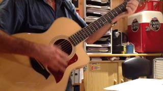 Il est libre Max Cover guitare