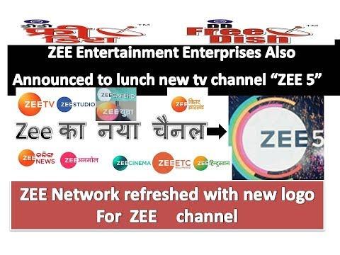 ZEE 5. lunch new tv channel  of zee entertainment enterprises 2017