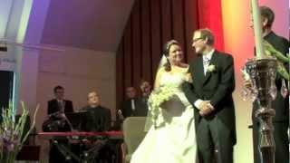 Reidun & Christians bryllup - En LITT uvanlig innmarsj