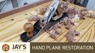 Restoring A Hand Plane - Stanley Bailey #5    - 254