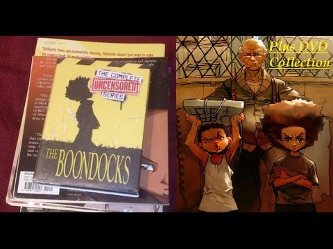 The Boondocks Complete Series/DVD Unboxing plus Comic strip preview