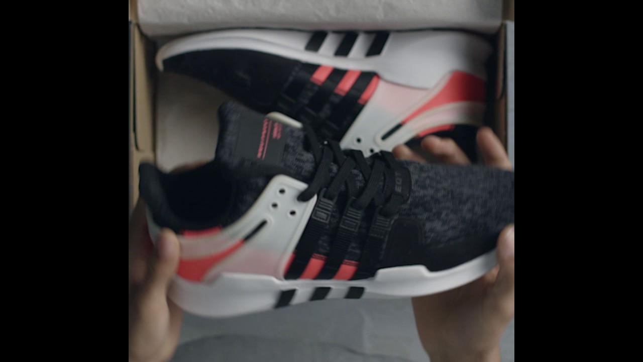 Adidas EQT unboxing un retrato bb1302 2 Copie la URL de YouTube Instagram