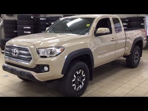 2017 Toyota Tacoma Access Cab Trd Off Road Manual Review