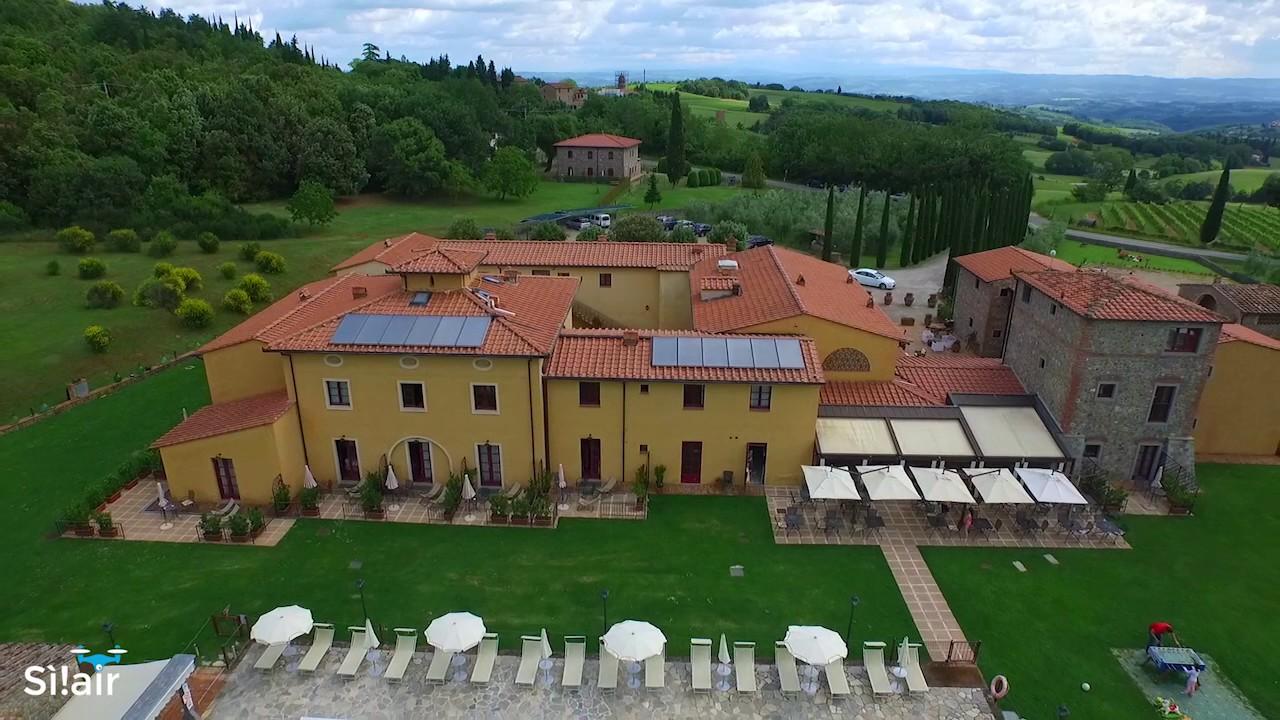 Hotel Le Pozze Di Lecchi Hotel Casolare Le Terre Rosse San Gimignano Youtube