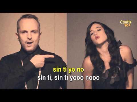 Miguel Bosé - Aire Soy ft. Ximena Sariñana (Karaoke) | CantoYo