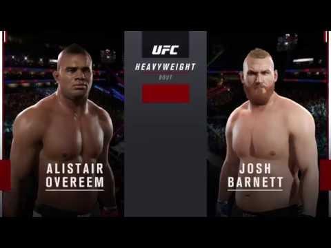 EA Sports UFC 2 Ranked - Alistair Overeem vs Josh Barnett (GP167)