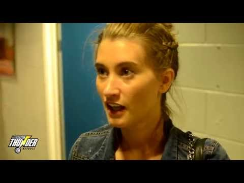 ITV Charity Netball - Post-game Interviews