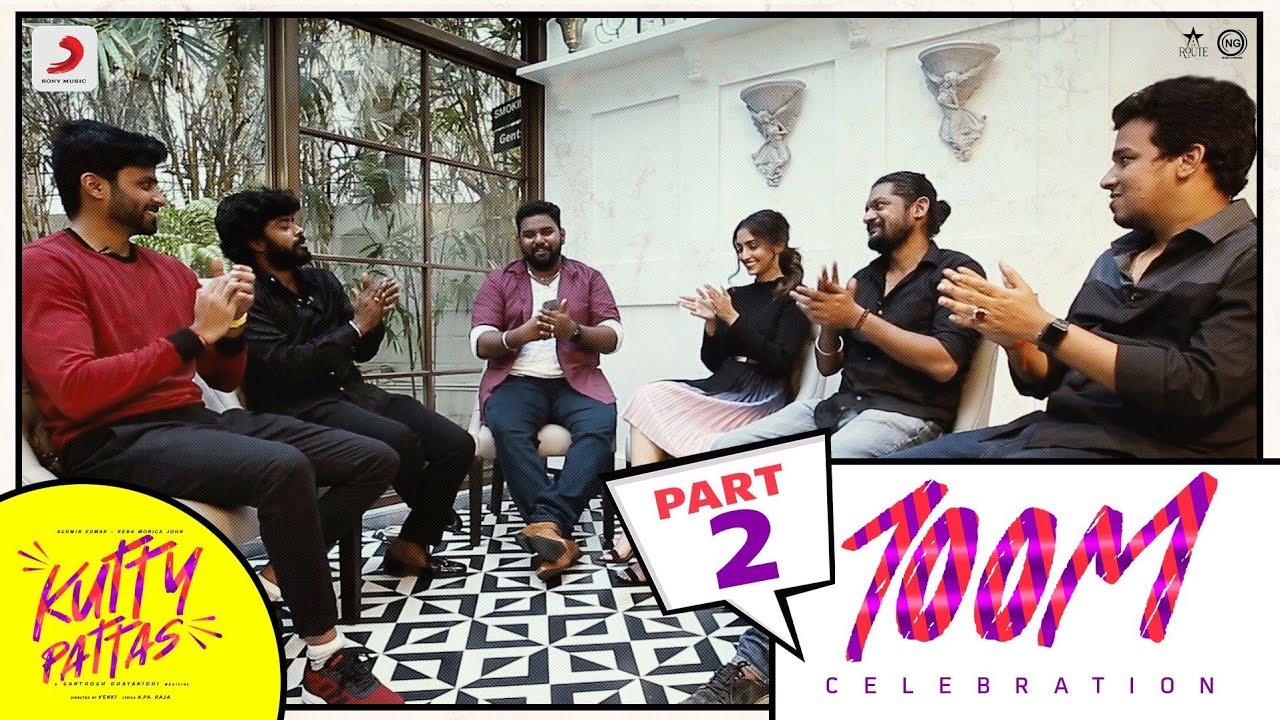 KUTTY PATTAS 100M CELEBRATION - Part 2  | Ashwin | Reba John | Venki | Santhosh Dhayanidhi | Sandy