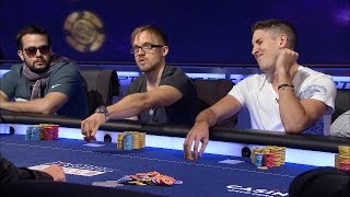 European Poker Tour 11 Barcelona 2014 - Super High Roller - Episode 1 | PokerStars