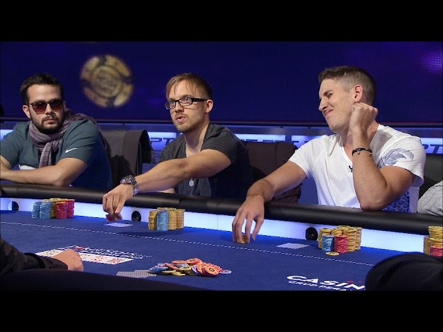 EPT 11 Barcelona 2014 - Super High Roller - Episode 1 | PokerStars