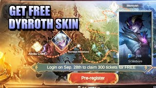 DYRROTH INVADES THE MONIYAN EMPIRE EVENT - GET A FREE SCALABORE SKIN