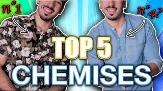 LES 5 MEILLEURES CHEMISES POUR HOMMES | LES INDISPENSABLES